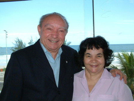 Dr. Manoel Ferreira and wife, Argentina Assembly of God Conference