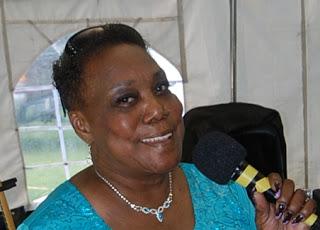 Eleanor Whitakker gospel singer. Listen to Eleanor Whitakker sing at The House of Prayer Holy Spirit Revival