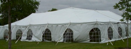 big white gospel tent, old fashioned full gospel tent meetings. Check website for schedule of camp meetings