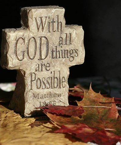 With God all things are possible. The Indestructible Gospel of Christ. Powerful Bible messages by Pastor Max Solbrekken.