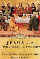 Jesus and the Jewish Roots of the Eucharist.  To author Brant Pitre, here is the highest praise I can give you...I sat there with your book, my Study Bible, and my Missal, flipping back and forth between the three...amazed at what I was reading, and trying to figure out how I'd missed so much before. Thank you for the lesson, it was wonderful! I hope your book will inspire others to do the same, and what more could you ask than to bring the scriptures alive to your readers!?